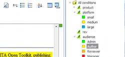 Efficient-authoring